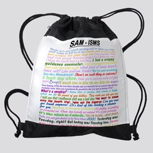 Sam-isms Drawstring Bag